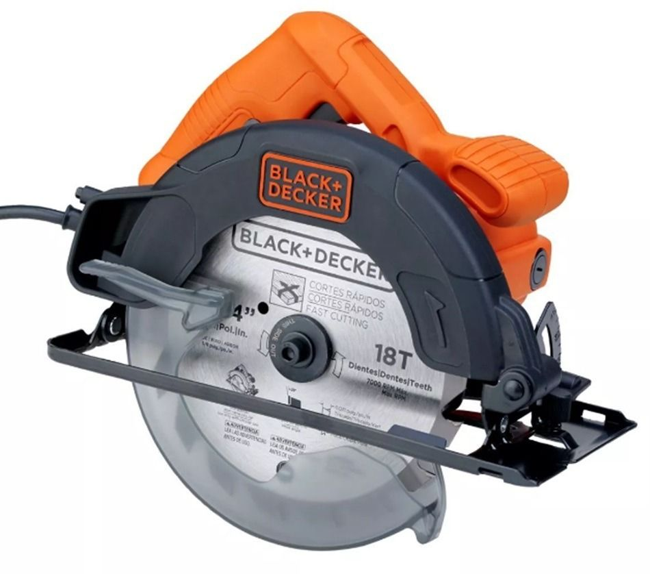Дисковая пила Black&Decker CS1004-RU (Китай)