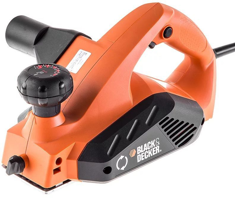Рубанок Black & Decker KW712-XK 650Вт 82мм (Китай)